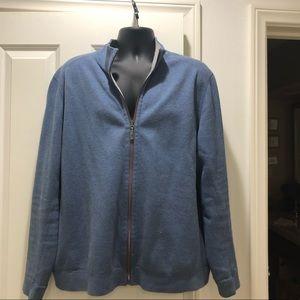 Zipper down jacket
